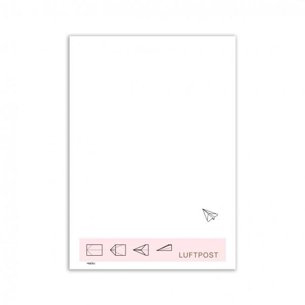 LUFTPOST - Briefpapier A4
